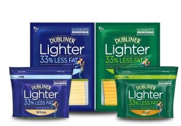 Dubliner Cheese Lighter Range