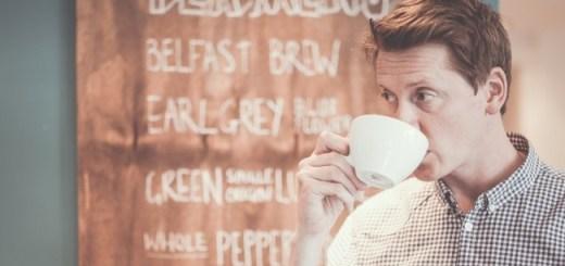 Oscar Wooley at Suki Tea HQ