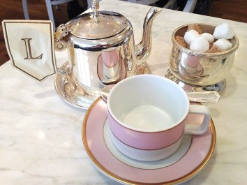 Tea in Ladurée Dublin