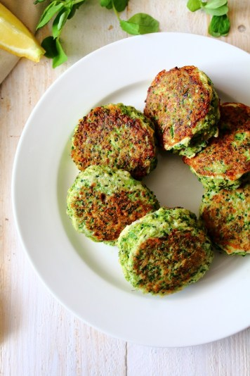 Paleo Broccoli Fritters by Peachy Palate
