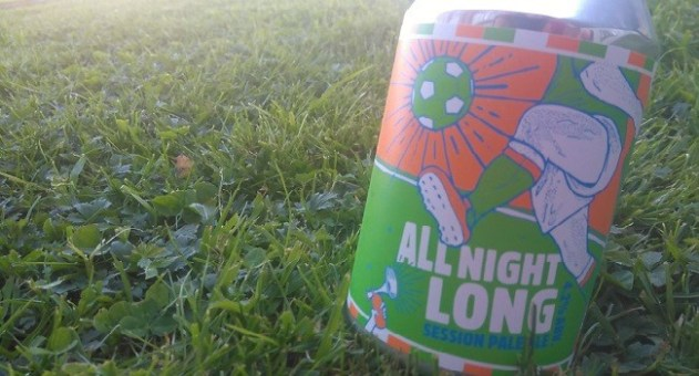 Rascals Brewing All Night Long Session Pale Ale - Craft Beer Review