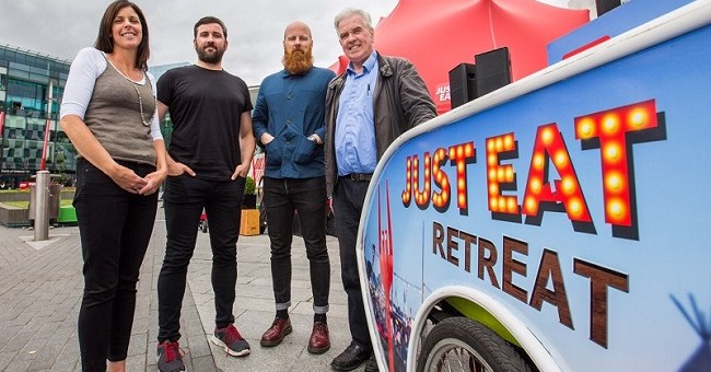 JUST EAT and Peter McVerry Trust to Collaborate at Electric Picnic