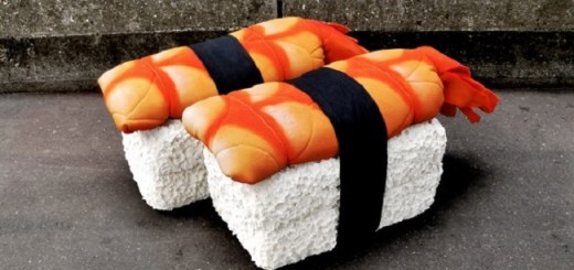 Parisian Artist Lor-k Creates Mouth-Watering Art from Old Mattresses