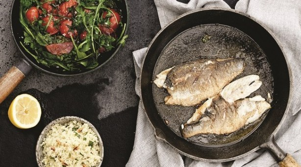 Sea bass recipe by Derval O'Rourke