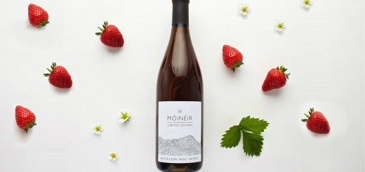 Fine Strawberry Wine from Móinéir - The Wicklow Way Wines Story