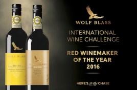 Wolf Blass Wins Red Winemaker of 2016 at the International Wine Challenge