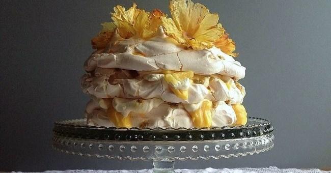 Pineapple & Passion Fruit Pavlova Recipe by Niamh Mannion