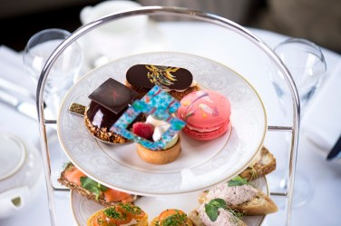 Michael Flatley Afternoon Tea at The Shelbourne
