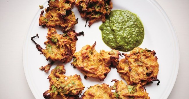 Indian Bhajis Recipe by Nadiya Hussain