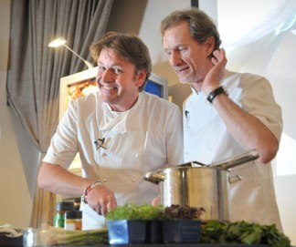James Martin Cooks up a Storm at Great Belfast Food Week