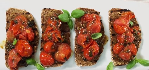 Irish soda bread bruschetta recipe