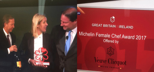 Clare Smyth Awarded Michelin Female Chef Award 2017