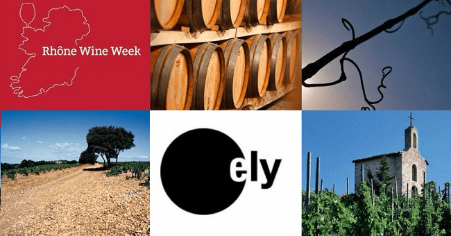 Rhône Wine Week Ireland: Big Rhône Tasting at Ely Bar & Brasserie on the 3rd of November