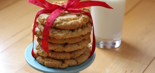 White Chocolate and Peanut Butter Cookies Recipe by Catherine Buggy
