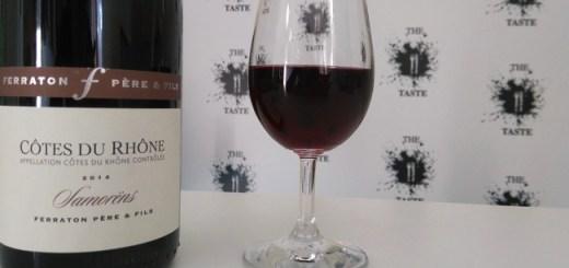 Wine of the Week from O'Briens: Ferraton Cotes Du Rhone Samorens 2013