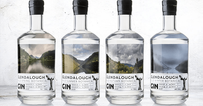 Glendalough Distillery are Giving Away a Bottle of all Four of their Seasonal Gins Along with a very Limited Edition of their Sloe Gin