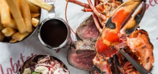 Win a 2 Course Dinner for 2 with Cocktails at Beef and Lobster