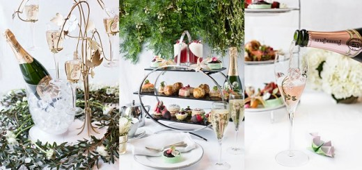Perrier Jouët's fabulous Afternoon Tea Springs into Johnnie Cooke's Restaurant at Brown Thomas