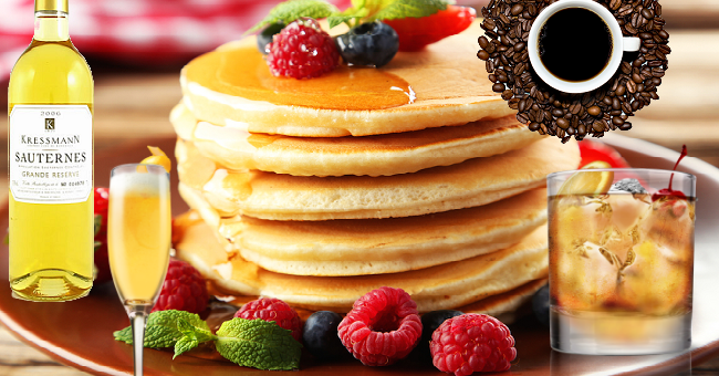 5 Pancake Wine and Drink Pairings to Take Things to the Next Level