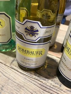Rombauer Vineyards Carneros Chardonnay 2015