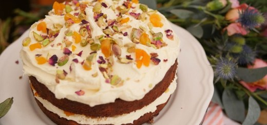 Pistachio and Apricot Cake Recipe from the Delicious Circle