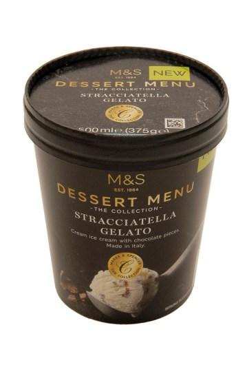 STRACCIATELLA GELATO - M&S's New Frozen Dessert Collection