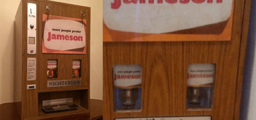 You Can Now Buy this Amazing Retro Irish Whiskey Vending Machine