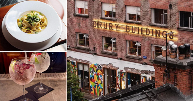 Win a 3 Course meal for 2 with Glendalough Gin and Tonics at Drury Buildings