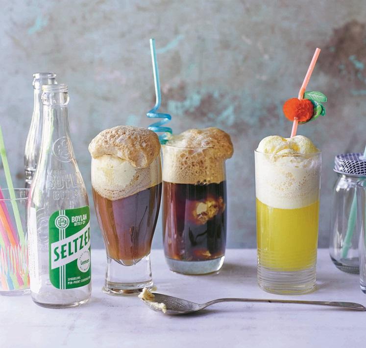 Grown Up Ice Cream Floats Recipe