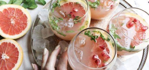 Grapefruit & Pomegranate Prosecco (1)