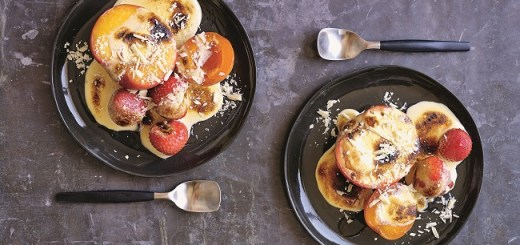 Poached Summer Fruits Recipe
