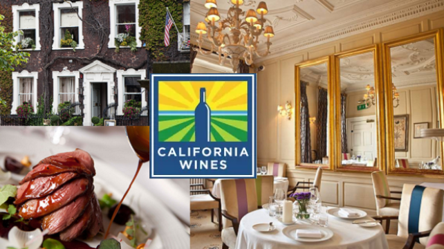 Win Dinner for Two and a Bottle of Wine at Restaurant Forty One to Celebrate California Wine Week