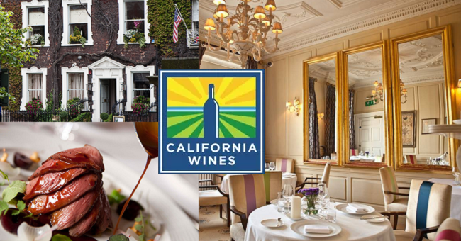 Win Dinner for Two and a Bottle of Wine at Restaurant 41 to Celebrate California Wine Week