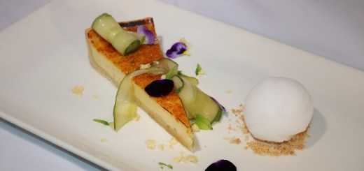 gin and tonic tart recipe by Chef Philip Gleeson
