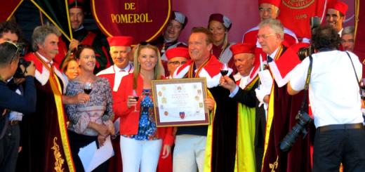 He'll be Back... to Bordeaux: Arnold Schwarzenegger Made Ambassador of Major Wine Region
