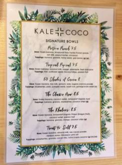 Kale + coco 2
