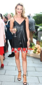 NO REPRO FEE 15/06/2017 La Dolce Vita at InterContinental Dublin Midsummer Party. Pictured last night were Doireann Garrihy as over 300 invited guests gathered at the five-star InterContinental Dublin in Ballsbridge for a La Dolce Vita-themed midsummer garden party. Guests enjoyed a feast of Italian fare and sipped on refreshing Aperol Spritzes, Prosecco and Gunpowder Gin classic Negronis, as Swing band the Irish Rat Pack entertained the crowd with their jazzy big band numbers. A 1968 Alfa Romeo Spider even made an appearance to top off the La Dolce Vita experience! Photograph: Leon Farrell / Photocall Ireland