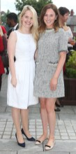 NO REPRO FEE 15/06/2017 La Dolce Vita at InterContinental Dublin Midsummer Party. Pictured last night were Deirdre Purcell and Mary Browne as over 300 invited guests gathered at the five-star InterContinental Dublin in Ballsbridge for a La Dolce Vita-themed midsummer garden party. Guests enjoyed a feast of Italian fare and sipped on refreshing Aperol Spritzes, Prosecco and Gunpowder Gin classic Negronis, as Swing band the Irish Rat Pack entertained the crowd with their jazzy big band numbers. A 1968 Alfa Romeo Spider even made an appearance to top off the La Dolce Vita experience! Photograph: Leon Farrell / Photocall Ireland