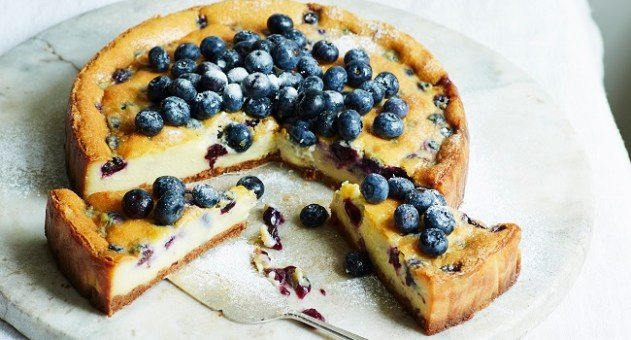 blueberry and white chocolate cheesecake recipe