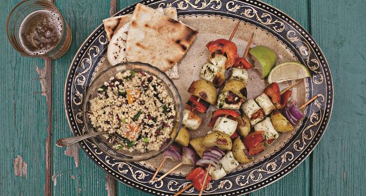 vegetable kebabs recipe .