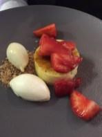 Retro Creme Brule, Strawberries