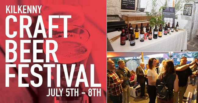 Taste Over 200 Craft Brews at Kilkenny Craft Beer Festival from July 5th to 8th