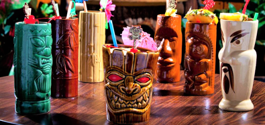 The Clock is Tiki Say Aloha to a New Wave of Tropical Tipples Tiki Trend