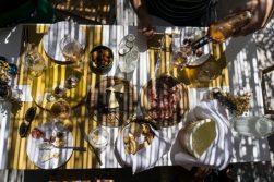 lunch at il cortiletto