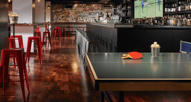Where old school pints and trendy g t globes clink for Bar food dublin 2