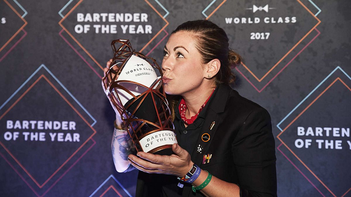 Canadian Bartender Kaitlyn Stewart named World Class Bartender of the Year 2017