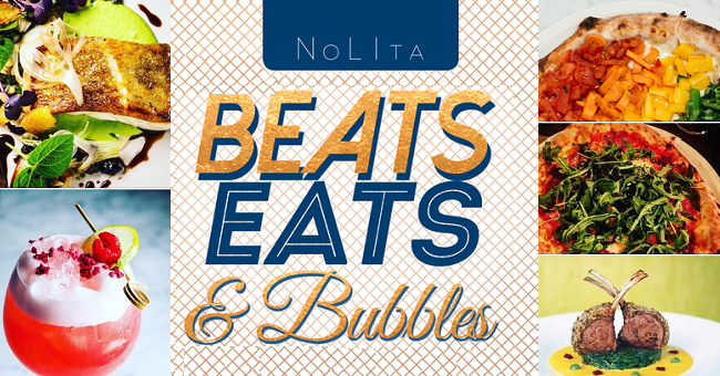 Enjoy Beats, Eats Bubbles this Bank Holiday Saturday at NoLIta featured