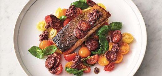 Smokey Chorizo Salmon Recipe