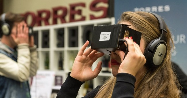 Virtual Reality, Drones and Apps - Torres Wines Pours the Future