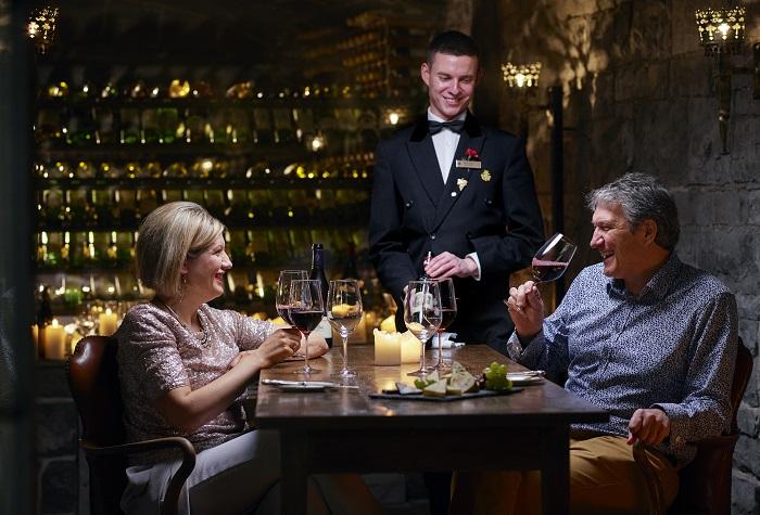 Ashford Castle's George V Dining Room Earns the AA Notable Wine List Award 2017